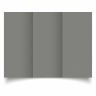 Slate Grey Card Blanks Double Sided 240gsm-DL-Trifold