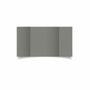 Slate Grey Card Blanks Double Sided 240gsm-Large Square-Gatefold