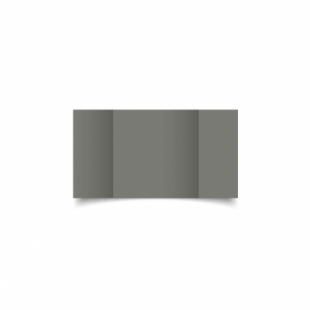 Slate Grey Card Blanks Double Sided 240gsm-Small Square-Gatefold