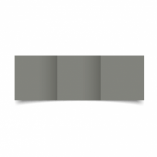 Slate Grey Card Blanks Double Sided 240gsm-Small Square-Trifold