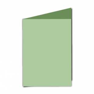 """Spring Green Card Blanks Double Sided 240gsm-5""""x7""""-Portrait"""