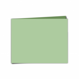 """Spring Green Card Blanks Double Sided 240gsm-5""""x7""""-Landscape"""