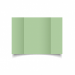 Spring Green Card Blanks Double Sided 240gsm-A5-Gatefold