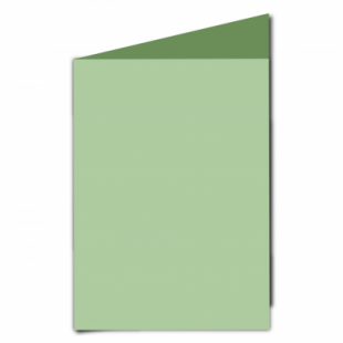 Spring Green Card Blanks Double Sided 240gsm-A5-Portrait