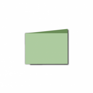 Spring Green Card Blanks Double Sided 240gsm-A7-Landscape
