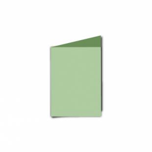 Spring Green Card Blanks Double Sided 240gsm-A7-Portrait
