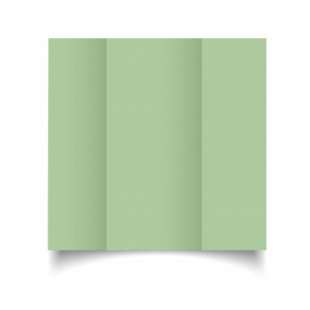 Spring Green Card Blanks Double Sided 240gsm-DL-Gatefold