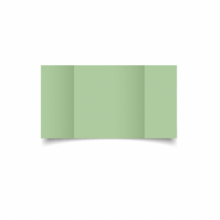 Spring Green Card Blanks Double Sided 240gsm-Large Square-Gatefold
