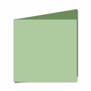 Spring Green Card Blanks Double Sided 240gsm-Large Square-Portrait