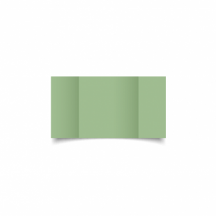 Spring Green Card Blanks Double Sided 240gsm-Small Square-Gatefold