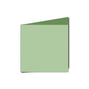Spring Green Card Blanks Double Sided 240gsm-Small Square-Portrait