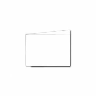 White Linen Card Blanks 255gsm-A7-Landscape