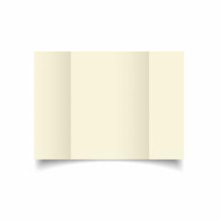 Ivory Hammered Card Blanks 255gsm-A5-Gatefold