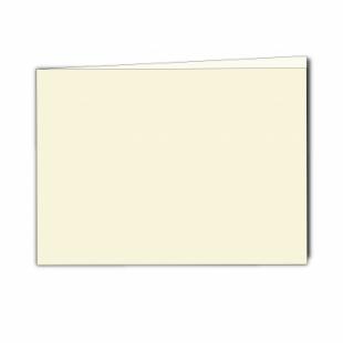 """Ivory Hammered Card Blanks 255gsm-5""""x7""""-A5-Landscape"""
