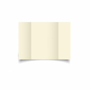 Ivory Hammered Card Blanks 255gsm-A6-Gatefold