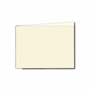 Ivory Hammered Card Blanks 255gsm-A6-Landscape