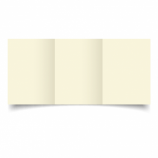 Ivory Hammered Card Blanks 255gsm-A6-Trifold