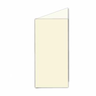 Ivory Hammered Card Blanks 255gsm-DL-Portrait