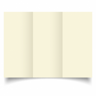 Ivory Hammered Card Blanks 255gsm-DL-Trifold