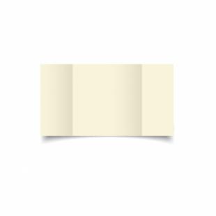 Ivory Hammered Card Blanks 255gsm-Large Square-Gatefold