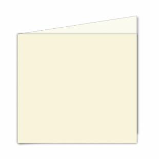 Ivory Hammered Card Blanks 255gsm-Large Square-Portrait
