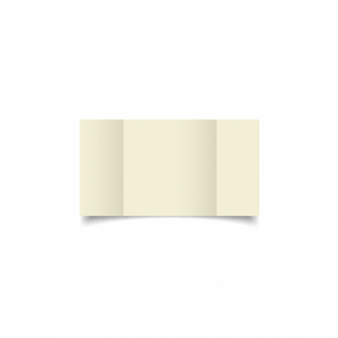 Ivory Hammered Card Blanks 255gsm-Small Square-Gatefold