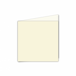 Ivory Hammered Card Blanks 255gsm-Small Square-Portrait