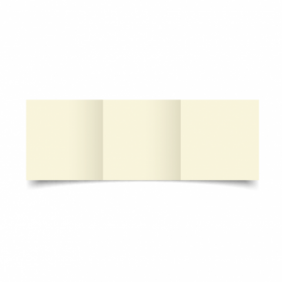 Ivory Hammered Card Blanks 255gsm-Small Square-Trifold