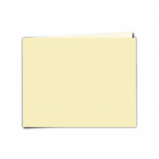"Rich Cream Linen Card Blanks 255gsm-5""x7""-Landscape"