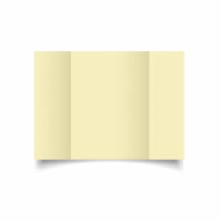 Rich Cream Linen Card Blanks 255gsm-A5-Gatefold