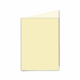 Rich Cream Linen Card Blanks 255gsm-A6-Portrait