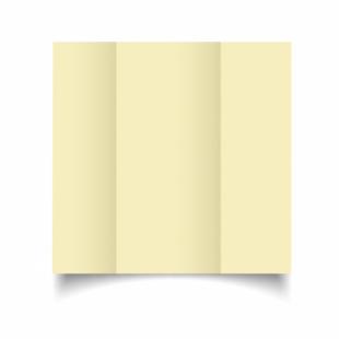 Rich Cream Linen Card Blanks 255gsm-DL-Gatefold