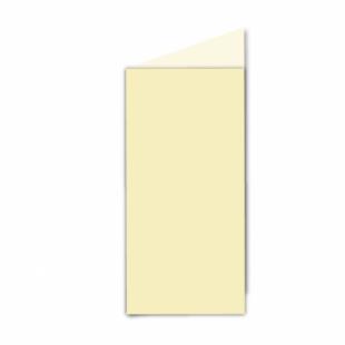 Rich Cream Linen Card Blanks 255gsm-DL-Portrait