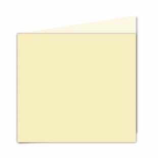 Rich Cream Linen Card Blanks 255gsm-Large Square-Portrait