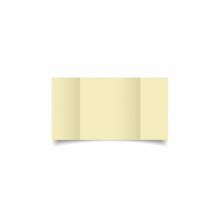 Rich Cream Linen Card Blanks 255gsm-Small Square-Gatefold