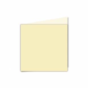Rich Cream Linen Card Blanks 255gsm-Small Square-Portrait