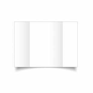 White Linen Card Blanks 255gsm-A5-Gatefold