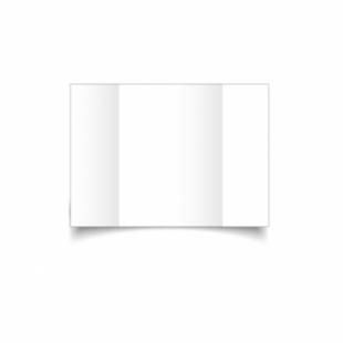 White Linen Card Blanks 255gsm-A6-Gatefold