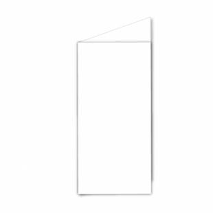 White Linen Card Blanks 255gsm-DL-Portrait
