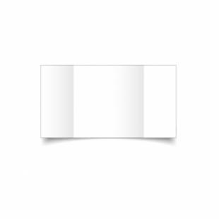 White Linen Card Blanks 255gsm-Large Square-Gatefold