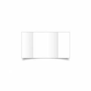 White Linen Card Blanks 255gsm-Small Square-Gatefold