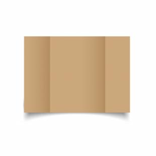 Buff Card Blanks Double Sided 260gsm-A5-Gatefold