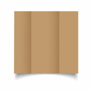 Buff Card Blanks Double Sided 260gsm-DL-Gatefold