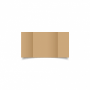 Buff Card Blanks Double Sided 260gsm-Small Square-Gatefold