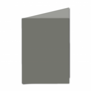 """Antracite Sirio Colour Card Blanks Double sided 290gsm-5""""x7""""-Portrait"""