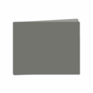 """Antracite Sirio Colour Card Blanks Double sided 290gsm-5""""x7""""-Landscape"""