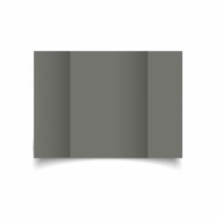 Antracite Sirio Colour Card Blanks Double sided 290gsm-A5-Gatefold