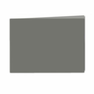 Antracite Sirio Colour Card Blanks Double sided 290gsm-A5-Landscape