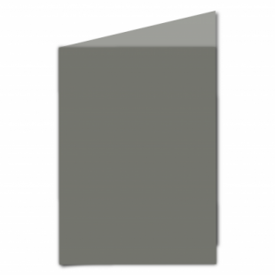 Antracite Sirio Colour Card Blanks Double sided 290gsm-A5-Portrait