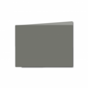 Antracite Sirio Colour Card Blanks Double sided 290gsm-A6-Landscape